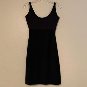 Spanx black shape wear full body dress slip